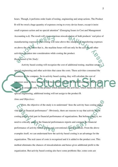 Finance and Accounting Dissertation essay example