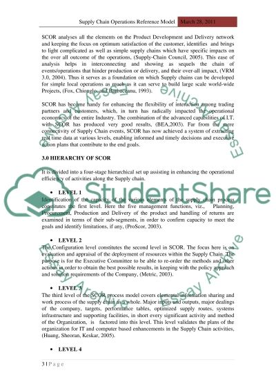 supply chain management essay example topics and well written  supply chain management essay example text preview