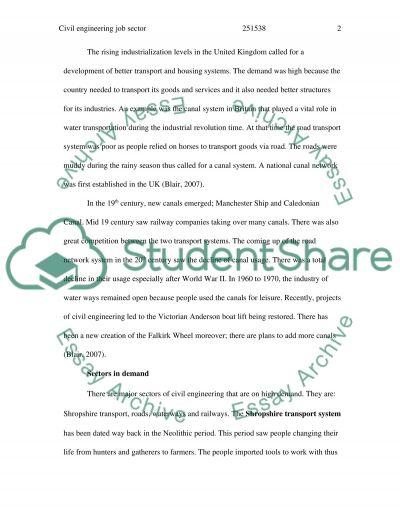 Civil Engineering: The Discipline of Engineering essay example
