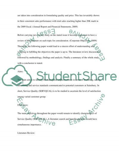 Management dissertation 1 essay example