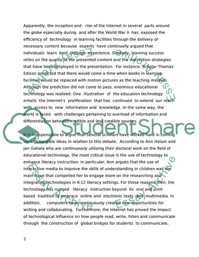 Doctorate of Education in Learning Technologies