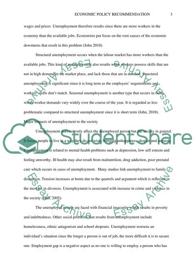 policy term paper