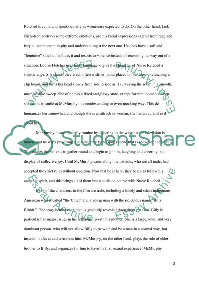 Research Essay Proposal Template Movie Analysis One Flew Over The Cuckoos Nest Essay Writing Thesis Statement also High School Vs College Essay Compare And Contrast Movie Analysis One Flew Over The Cuckoos Nest Essay A Modest Proposal Essay Topics