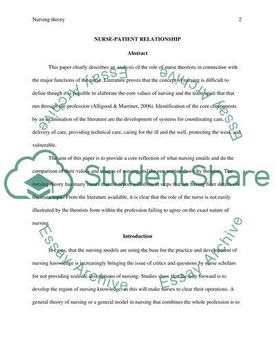Nursing research thesis titles