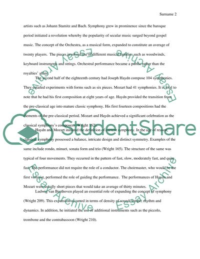 College Vs High School Essay Compare And Contrast Tracing The Emergence Of The Symphony From Sammartini And Stamitz Through  The Works Of Haydn Proposal Argument Essay also A Level English Essay Tracing The Emergence Of The Symphony From Sammartini And Stamitz Essay Samples Of Essay Writing In English