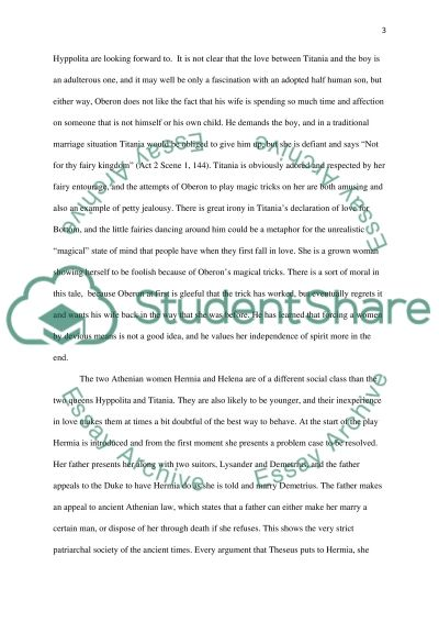 shakespeare women in a midsummer nights dream essay example paper add to wishlist delete from wishlist shakespeare women in a midsummer nights dream essay example