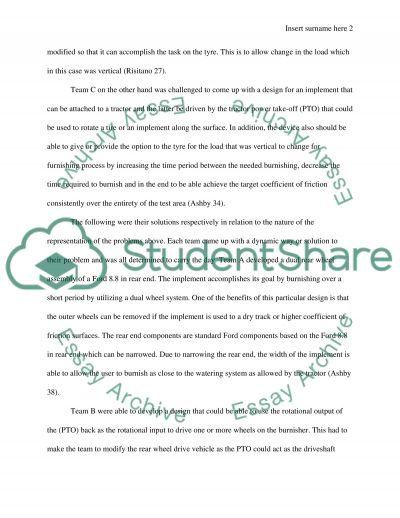 Case analysis essay example