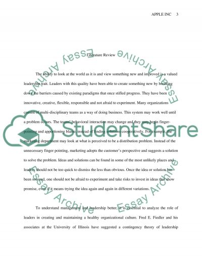 Apple Inc. Essay example