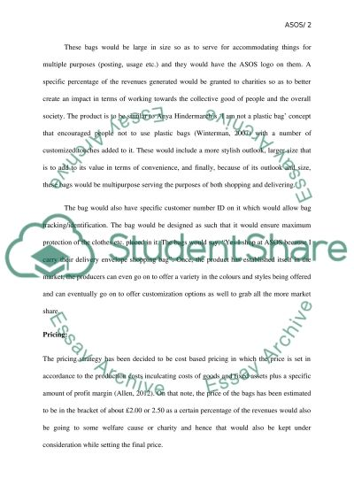New Business Proposal essay example