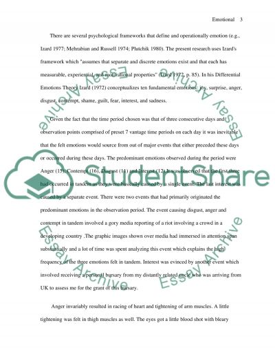 Motivation, Emotion, and Learning essay example