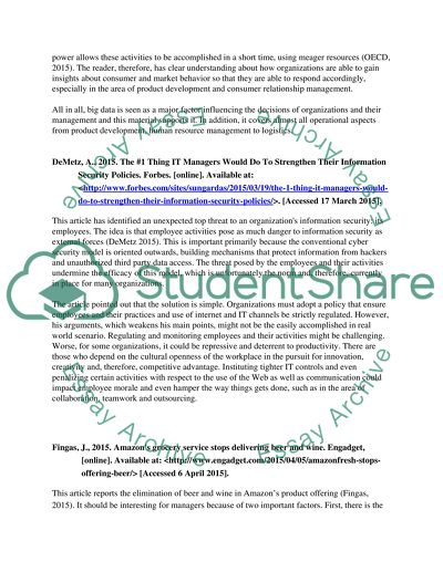 Information Technology Essay Example  Topics And Well Written  Information Technology