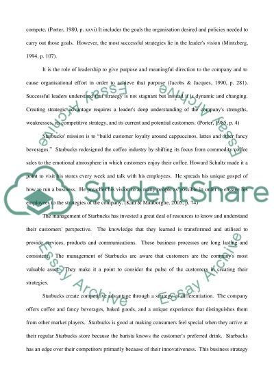 Effective Leadership and Management of Starbucks UK Essay example
