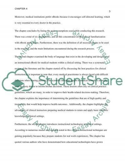 Neurology Clerkship Thesis Chapter 4 essay example