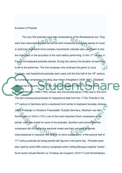Orchestral Music essay example