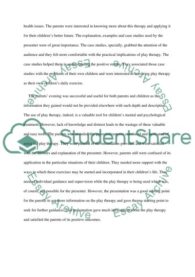reflective essay on art therapy What makes a successful reflective essay great guidelines on how to write a reflective essay for your college.