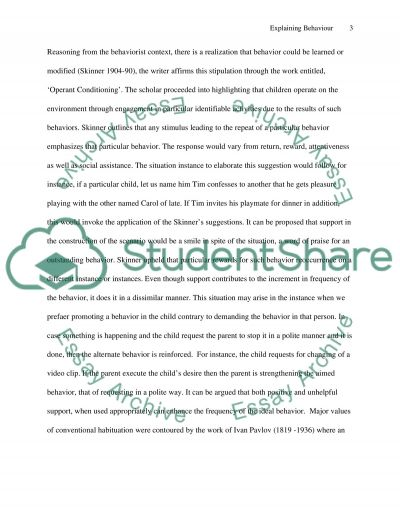 Challenging Behavior. Causes and Approaches to Dealing with Challenging Behavior essay example