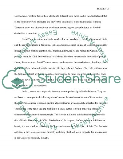 Essay on Philosophy and Politics Essay example