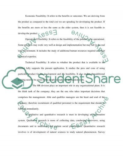 Organizational Technology Plan essay example